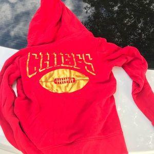 Chiefs zip up hoodie